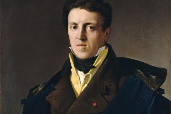 Jean Auguste Dominique Ingres. Portrait of Charles Marcotte