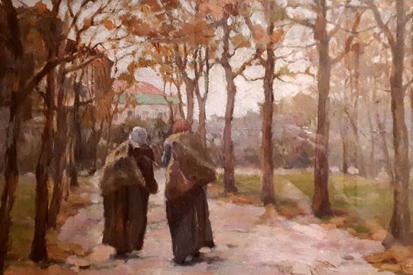 Kiriak Konstantinovich Kostandi. Old woman