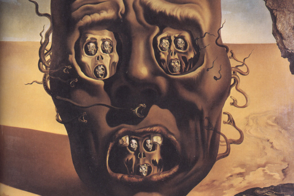 Salvador Dali. The face of war