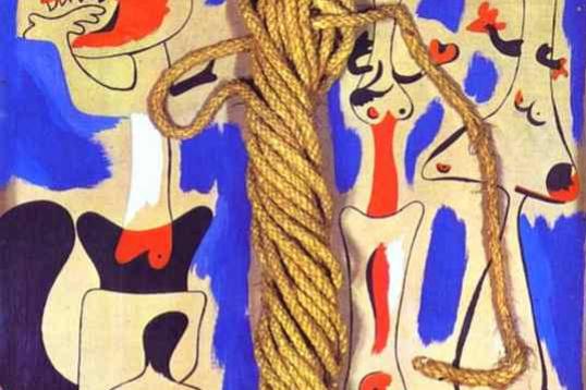 Хоан Миро. Веревка и люди