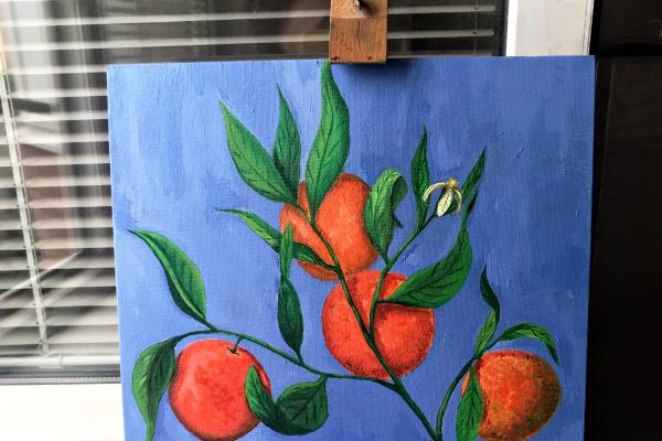 Ksenia Vladimirovna Ivankova. Oranges