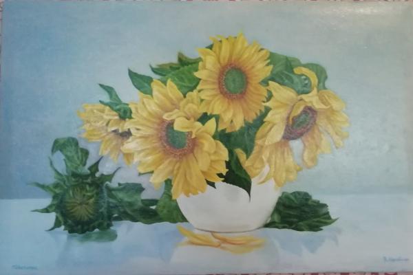 Korobkin. Sunflowers