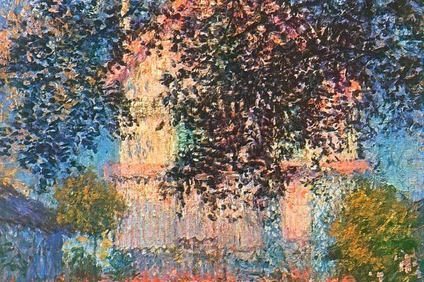 Клод Моне. Дом художника в Аржантёе
