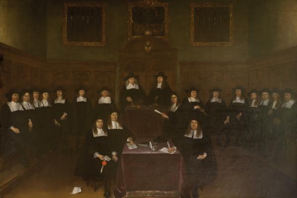 Герард Терборх (тер Борх). Portrait of Deventer Magistrates