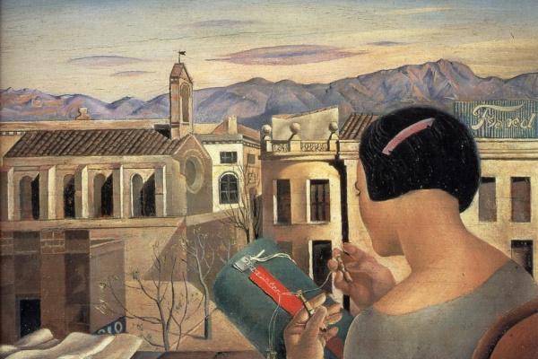 Сальвадор Дали. Женщина у окна в Фигерасе