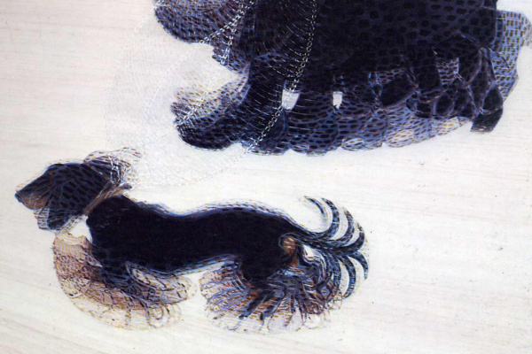 Джакомо Балла. Прогулка с собакой