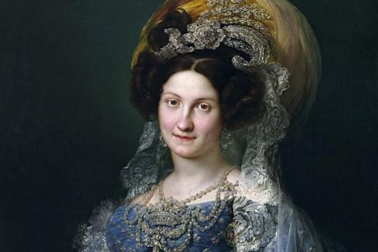 Висенте Лопес-и-Портанья. Мария Кристина де Бурбон, королева Испании