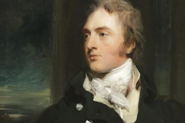 Thomas Lawrence. Portrait of sir George of Cornwall, 3rd baronet MOKAS Court