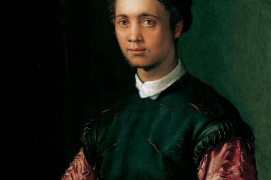 Francesco Salviati. Portrait of a young man