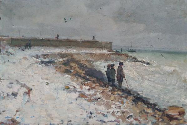 Александр Павлович Ацманчук. Пляж Ланжерон.