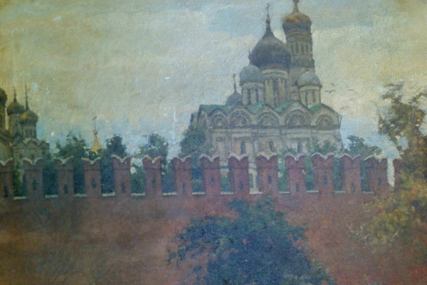 Андрей Петрович Горский. Вид на кремль