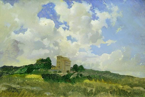 Nikolai Nikolaevich Ge. Cloud Frascati. Etude