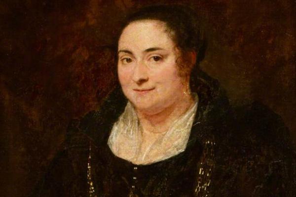 Антонис ван Дейк. Портрет неизвестной генуэзской дамы