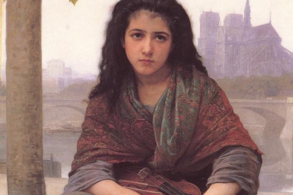 William-Adolphe Bouguereau. Gypsy