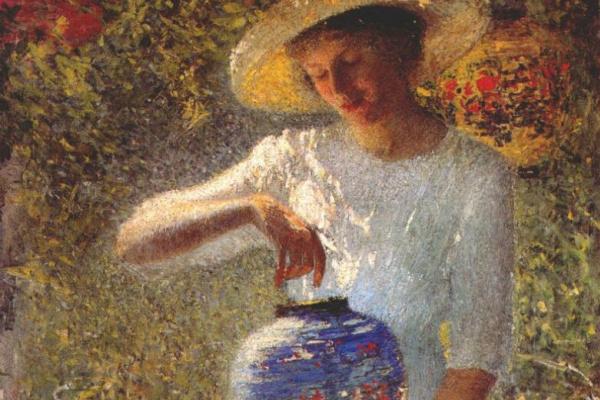 Хелен Мария Тернер. Девушка с фонарем