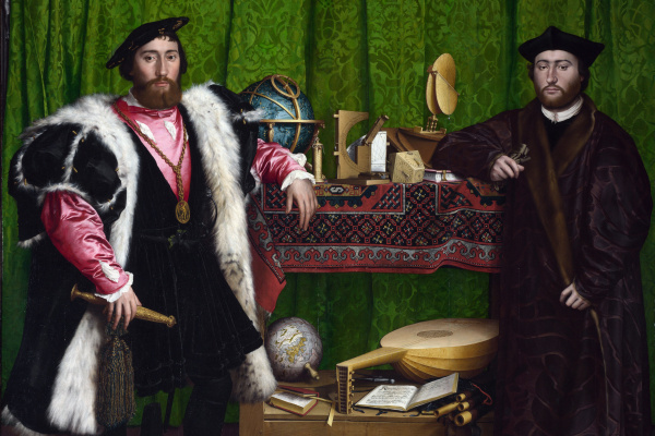 Hans Holbein The Younger. Ambassadors