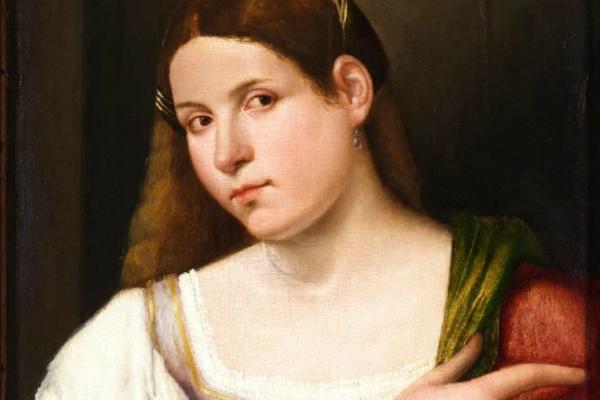 Джованни Кариани. Портрет молодой женщины
