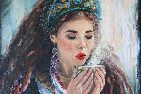Julia Valerievna Fedotova. Have a nice tea party