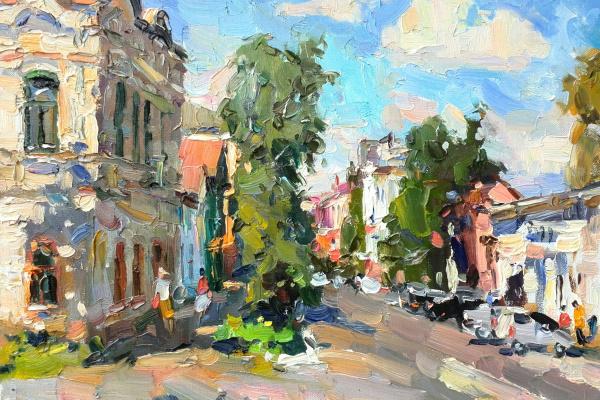 Константин Долгашев. Старая улица г.Бузулука