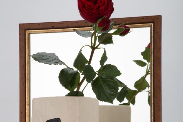 "Alexandra Stroganova. Large ceramic vase ""Ladies"""