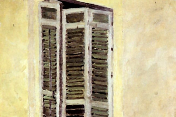 Александр Яковлевич Головин. Дети на балконе. Испания