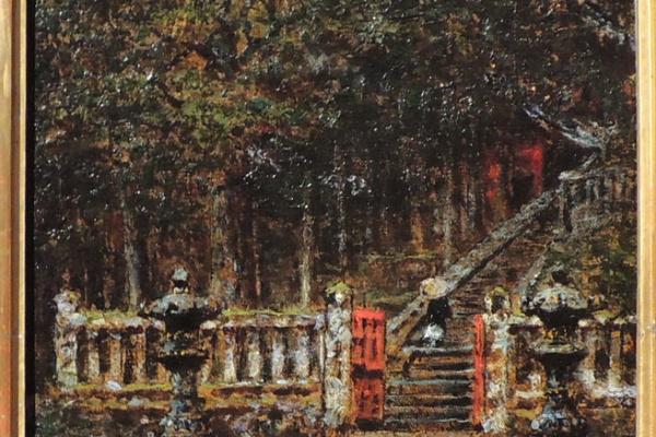 Василий Васильевич Верещагин. Вход в храм в Киото