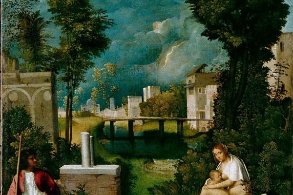 Джорджоне. Буря. ок. 1508