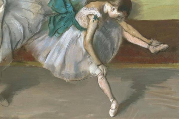 Эдгар Дега. Отдыхающая танцовщица