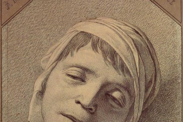 Жак-Луи Давид. Мертвый Марат