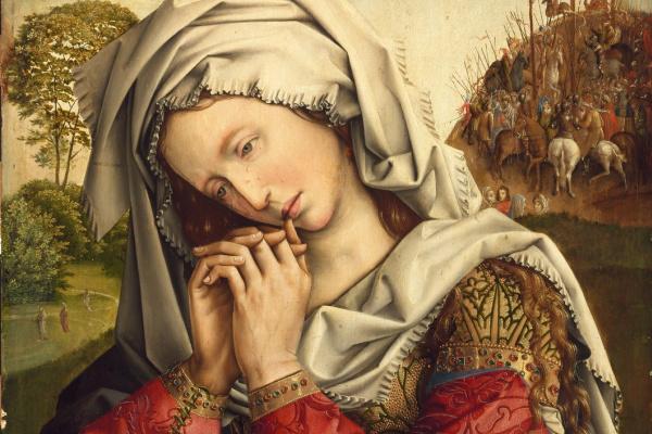 Колин де Котер. The Mourning Mary Magdalene