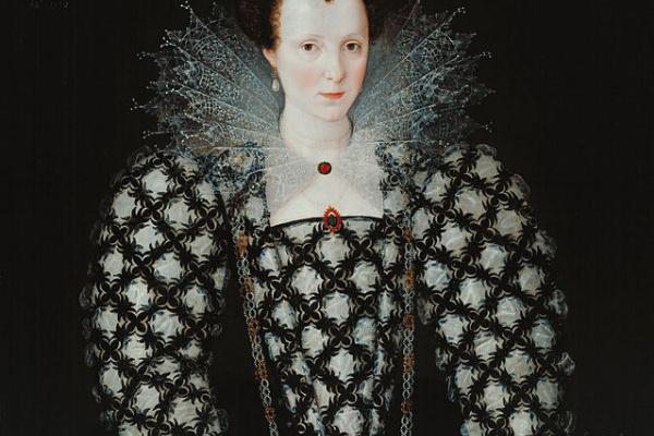 Marcus Girerts. Portrait Of Mary Rogers, Lady Harington