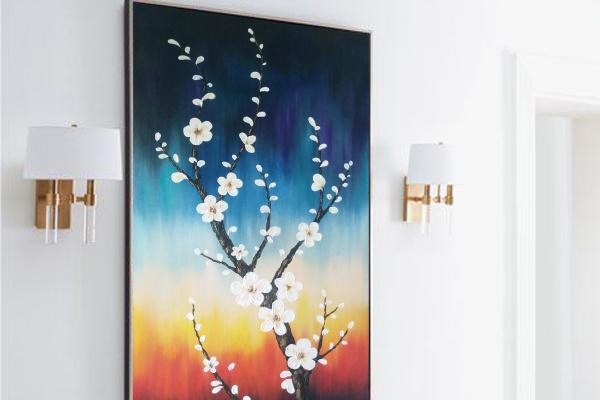 Nur-deco. Cherry blossoms