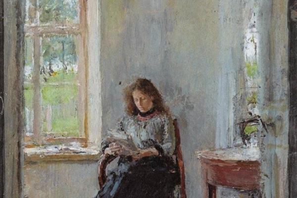 Валентин Александрович Серов. У окна