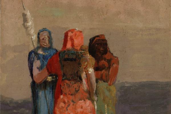 Odilon Redon. Three fates