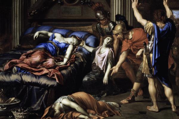 Pierre Minyar. Cleopatra's death