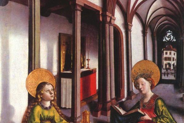 Конрад  (Витц) Виц. Святая Екатерина и Мария Магдалина