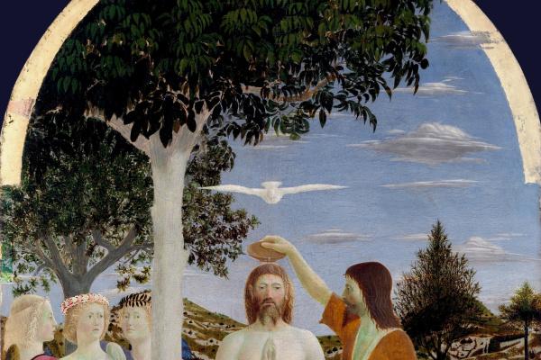 Пьеро делла Франческа. Крещение Иисуса Христа