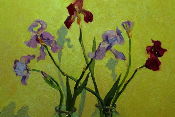 "Igor Semelin. ""Irises"""