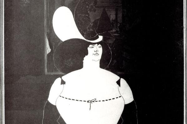Обри Бердслей. Толстая женщина
