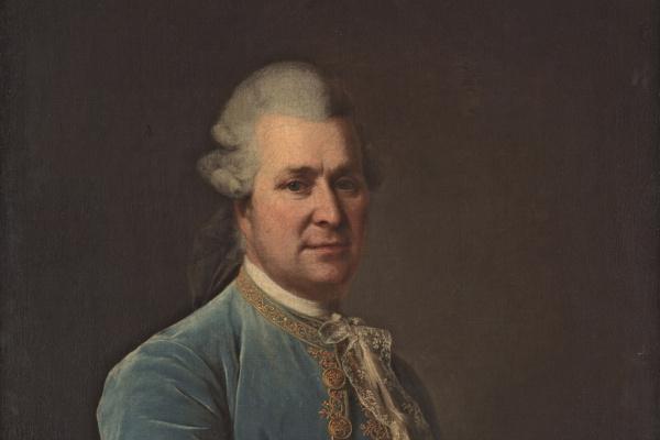Dmitry Grigorievich Levitsky. Portrait of count J. E. Sievers