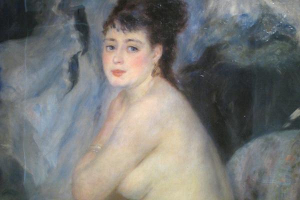 Pierre Auguste Renoir. Nude