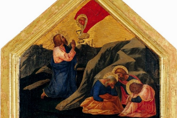Tommaso Masaccio. Agony in the Garden of Gethsemane