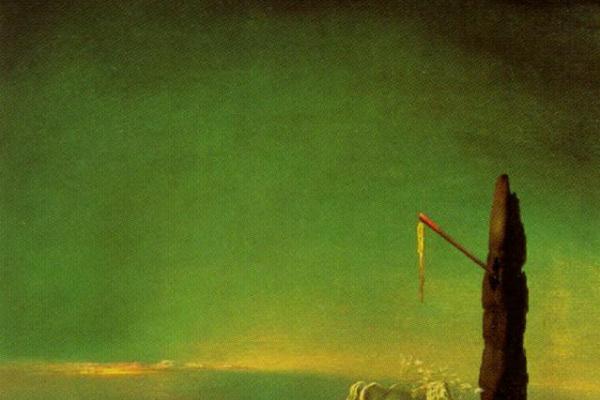 Salvador Dali. Eclipse and vegetable osmosis