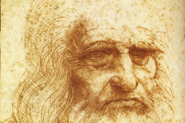 Леонардо да Винчи. Автопортрет