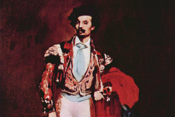 Edouard Manet. Dancer Mariano Camprubi
