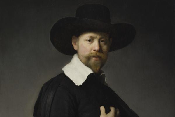 Rembrandt Harmenszoon van Rijn. The Portrait Of Martin Lucena