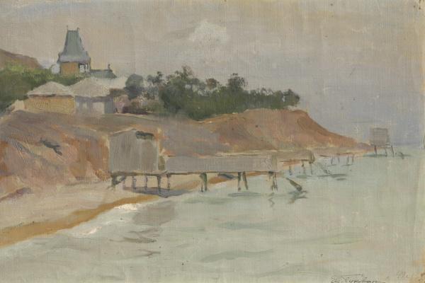 Евгений Иосифович Буковецкий. Coastal landscape