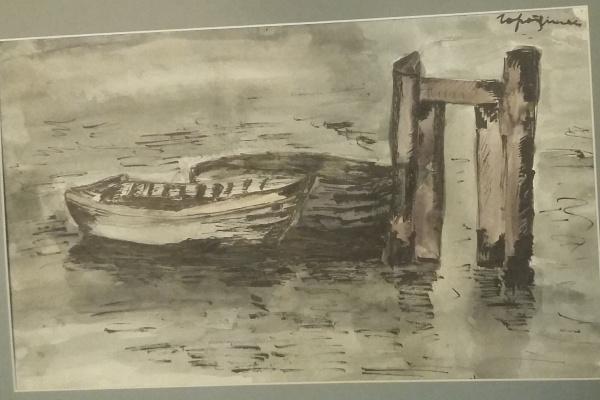 Gorodetsky. Old pier