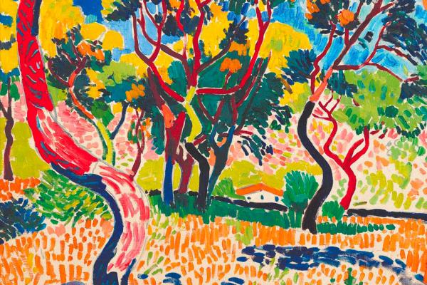 Андре Дерен. Деревья в Коллиуре