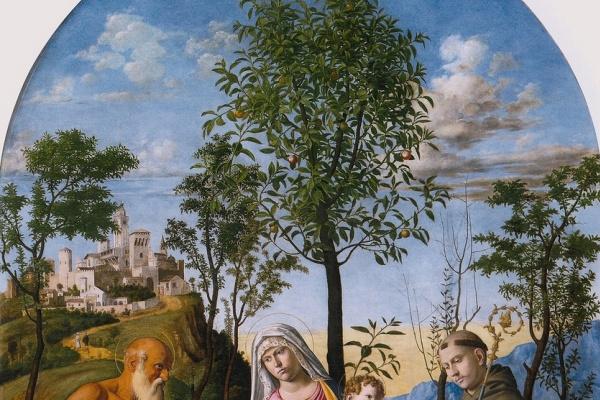 Чима да Конельяно. Мадонна под апельсиновым деревом